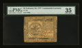 Colonial Notes:Continental Congress Issues, Continental Currency February 26, 1777 $5 PMG Choice Very Fine35....