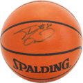 Basketball Collectibles:Balls, Shaquille O'Neal Single Signed Basketball....