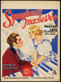 "Movie Posters:Drama, Unfinished Symphony (Ace, 1935). Pre-War Belgian (24.5"" X 33""). Drama.. ..."