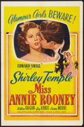 "Movie Posters:Drama, Miss Annie Rooney (United Artists, 1942). One Sheet (27"" X 41"").Drama.. ..."