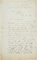 Autographs:U.S. Presidents, [Grover Cleveland] Secretarially Scripted Autograph Letter toHumbert I, King of Italy. ...