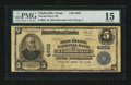 National Bank Notes:Texas, Clarksville, TX - $5 1902 Plain Back Fr. 605 The Red River NB Ch. # 4982. ...