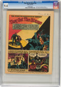 Golden Age (1938-1955):Non-Fiction, They Got the Blame #nn (YMCA, no date) CGC NM 9.4 Off-whitepages....