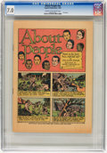 Golden Age (1938-1955):Miscellaneous, About People #nn (Capitol, 1947) CGC FN/VF 7.0 Cream to off-white pages....