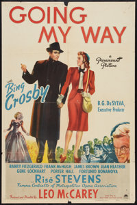 "Going My Way (Paramount, 1944). One Sheet (27"" X 41""). Drama"