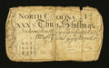 Colonial Notes:North Carolina, North Carolina March 9, 1754 30s Good....