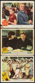 """Movie Posters:Comedy, Judy Garland Lot (MGM, 1940s). Lobby Cards (3) (11"""" X 14""""). Comedy.. ... (Total: 3 Items)"""