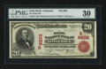 National Bank Notes:Arkansas, Little Rock, AR - $20 1902 Red Seal Fr. 639 The State NB Ch. # (S)6902. ...