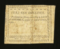 Colonial Notes:North Carolina, North Carolina April 23, 1761 10s Very Fine....