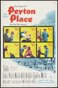 "Movie Posters:Drama, Peyton Place (20th Century Fox, 1958). Autographed One Sheet (27"" X 41""). Drama.. ..."