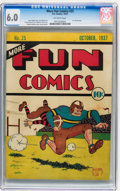 Platinum Age (1897-1937):Miscellaneous, More Fun Comics #25 (DC, 1937) CGC FN 6.0 Off-white pages....