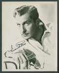 """Movie Posters:Horror, Vincent Price (Early 1950s). Autographed Photo (8"""" X 10""""). Horror....."""