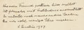 Autographs:Inventors, Albert Einstein Autograph Manuscript Signed on the rear pastedown of the book Einstein: His Life and Times, by Phili...