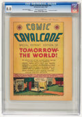Golden Age (1938-1955):Non-Fiction, Comic Cavalcade Giveaway #nn Tomorrow the World - Special ReprintEdition (DC/All-American, 1944) CGC VF 8.0 Cream to off-whit...