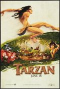 "Movie Posters:Animated, Tarzan Lot (Buena Vista, 1999). One Sheets (3) (27"" X 40"") DS Advances. Animated.. ... (Total: 3 Items)"