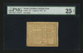 Colonial Notes:North Carolina, North Carolina August 8, 1778 $5 PMG Very Fine 25 Net....