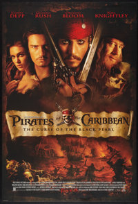 "Pirates of the Caribbean: The Curse Of The Black Pearl (Walt Disney Productions, 2003). One Sheet (27"" X 40"")..."