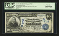 National Bank Notes:Missouri, Saint Louis, MO - $10 1902 Date Back Fr. 616 The Mechanics-AmericanNB Ch. # (M)7715. ...