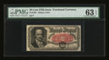 Fractional Currency:Fifth Issue, Fr. 1381 50¢ Fifth Issue PMG Choice Uncirculated 63 EPQ....
