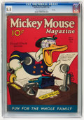 Platinum Age (1897-1937):Miscellaneous, Mickey Mouse Magazine #8 File Copy (K. K. Publications/Western Publishing Co., 1936) CGC FN- 5.5 Cream to off-white pages....