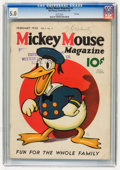 Platinum Age (1897-1937):Miscellaneous, Mickey Mouse Magazine #5 File Copy (K. K. Publications/WesternPublishing Co., 1936) CGC VG/FN 5.0 White pages....