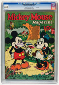 Platinum Age (1897-1937):Miscellaneous, Mickey Mouse Magazine #9 File Copy (K. K. Publications/WesternPublishing Co., 1936) CGC FN 6.0 Cream to off-white pages....