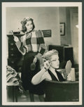 """Movie Posters:Comedy, Lana Turner and Marsha Hunt in """"These Glamour Girls"""" (MGM, 1939).Photos (4) (8"""" X 10""""). Comedy.. ... (Total: 4 Items)"""