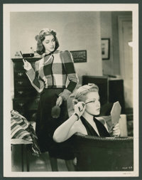 """Lana Turner and Marsha Hunt in """"These Glamour Girls"""" (MGM, 1939). Photos (4) (8"""" X 10""""). Comedy..."""