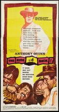 """Movie Posters:Western, The Ride Back (United Artists, 1957). Three Sheet (41"""" X 81"""").Western.. ..."""
