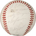 Baseball Collectibles:Balls, 1963 Pittsburgh Pirates Team Signed Baseball....