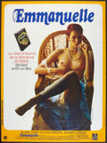 "Movie Posters:Adult, Emmanuelle (Parafrance Films, 1974). French Grande (46"" X 62""). Adult.. ..."