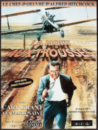 "North by Northwest (MGM, R-2000). French Grande (46"" X 61.5""). Hitchcock"