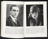 "Who's Who on the Screen (Ross Publishing, 1920). Hardcover Book (5.5"" X 8.5"", 417 Pages). Miscellaneous"