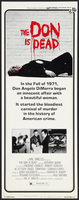 """The Don is Dead Lot (Universal, 1973). Inserts (3) (14"""" X 36"""") Regular and Style C. Crime. ... (Total: 3 Items..."""