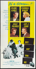 "Movie Posters:Comedy, But Not For Me (Paramount, 1959). Three Sheet (41"" X 81""). Comedy....."