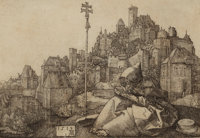 PROPERTY OF MRS. RUTH CARTER-STEVENSON  ALBRECHT DÜRER (German, 1471-1528) St. Anthony Reading