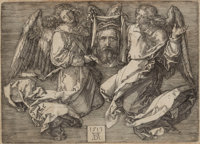 PROPERTY OF MRS. RUTH CARTER-STEVENSON  ALBRECHT DÜRER (German, 1471-1528) The Sudarium Held b