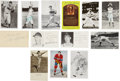 Miscellaneous Collectibles:General, Sports Stars Signed Memorabilia Lot of 13....
