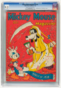 Golden Age (1938-1955):Cartoon Character, Mickey Mouse Magazine V3#4 (K. K. Publications/Western PublishingCo., 1938) CGC NM- 9.2 Cream to off-white pages....