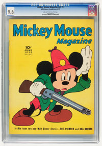 Mickey Mouse Magazine V4#9 (K. K. Publications/Western Publishing Co., 1939) CGC NM+ 9.6 Cream to off-white pages