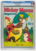 Golden Age (1938-1955):Cartoon Character, Mickey Mouse Magazine V3#8 (K. K. Publications/Western PublishingCo., 1938) CGC VF/NM 9.0 Cream to off-white pages....