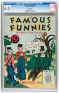 Platinum Age (1897-1937):Miscellaneous, Famous Funnies #9 (Eastern Color, 1935) CGC FN 6.0 White pages....