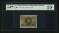Fractional Currency:Second Issue, Fr. 1245 10¢ Second Issue PMG Choice About Unc 58 EPQ....
