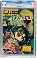 "Golden Age (1938-1955):Classics Illustrated, Classics Illustrated #40 Mysteries First Edition - Davis Crippen(""D"" Copy) pedigree (Gilberton, 1947) CGC NM 9.4 Off-white pa..."