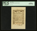 Colonial Notes:Rhode Island, Rhode Island May 1786 1s PCGS Gem New 65PPQ....