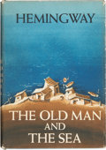 Books:First Editions, Ernest Hemingway. The Old Man and the Sea. New York: CharlesScribner's Sons, 1952.. First edition, first issu...