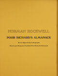 Books:Signed Editions, Norman Rockwell. Poor Richard's Almanack, Seven Signed ColorLithographs Based Upon Benjamin Franklin's Poor Richard...