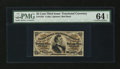 Fractional Currency:Third Issue, Fr. 1291 25¢ Third Issue PMG Choice Uncirculated 64 EPQ....