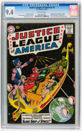 Silver Age (1956-1969):Superhero, Justice League of America #3 (DC, 1961) CGC NM 9.4 Off-whitepages....