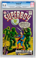 Silver Age (1956-1969):Superhero, Superboy #86 (DC, 1961) CGC NM 9.4 Off-white to white pages....